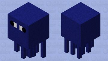 Totally Normal Squid Minecraft Mob Skin