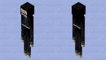 Victorian ghost endergirl Minecraft Mob Skin