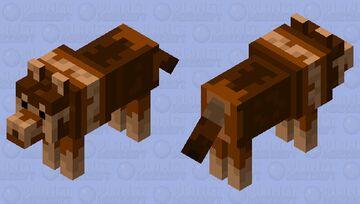 Tomb Raider 3: German Shepherd Minecraft Mob Skin