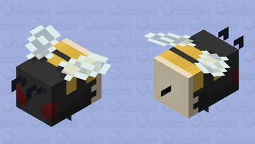 Bumblebee - yes angy, no pollen Minecraft Mob Skin