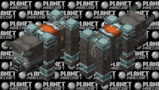 armored ravager Minecraft Skin