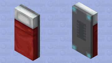 Hover Bed Minecraft Mob Skin