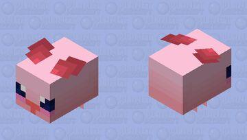 K i r b e e [this was a mistake] Minecraft Mob Skin