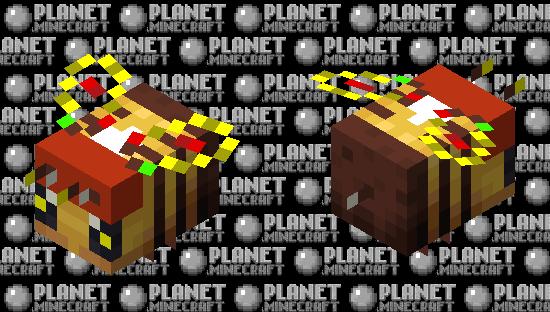 Merry Bee-mas! Minecraft Skin