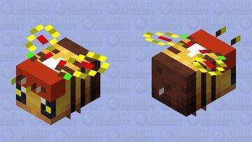 Merry Bee-mas! Minecraft Mob Skin