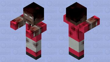 Infected Football Player Minecraft Mob Skin
