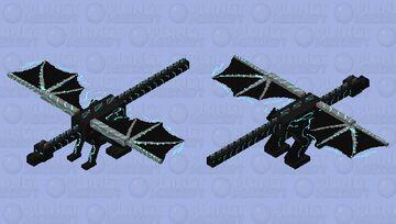 detailed dragon Minecraft Mob Skin