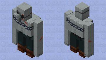 Illager Brute Minecraft Mob Skin