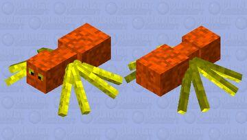 Nether Spider Minecraft Mob Skin