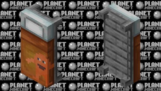 Orang(e) Bed Minecraft Skin