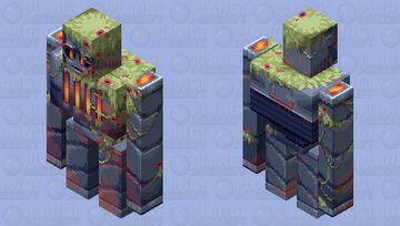 Mossy machinery (iron golem) Minecraft Mob Skin