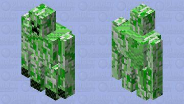 Buff Creeper AW MaN!!!! Minecraft Mob Skin