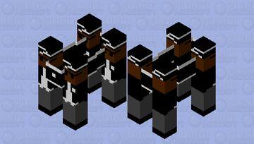 Coffin Dance Minecraft Mob Skin