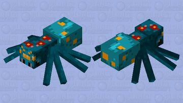 fungus spider Minecraft Mob Skin