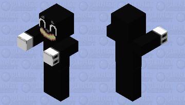 Cartoon Cat v2 Minecraft Mob Skin