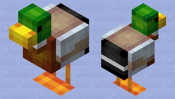 Mallard Duck - Mob Skintober 2020 - Day 19 Minecraft Mob Skin