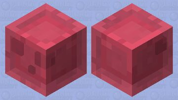Red Slime Minecraft Mob Skin