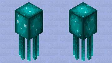 Glow Squid (Programmer Art) Minecraft Mob Skin