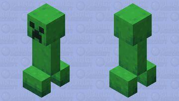 Creeper retexture Minecraft Mob Skin
