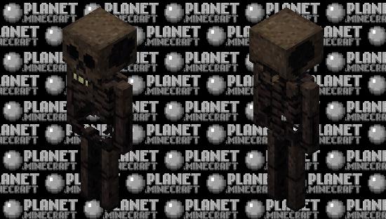 Stylized Wither Skeleton Minecraft Skin