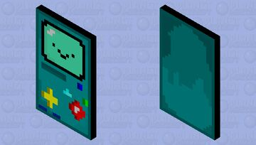 BMO Cape Minecraft Mob Skin