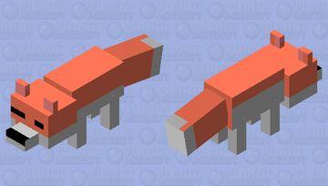 awwww a fox Minecraft Mob Skin