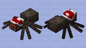 Santa Spider Minecraft Mob Skin