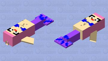mermaid Minecraft Mob Skin