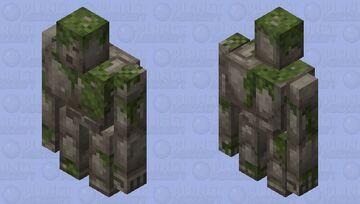 Ancient Cobblestone Golem: Winterhaven Beasts and Baddies Minecraft Mob Skin