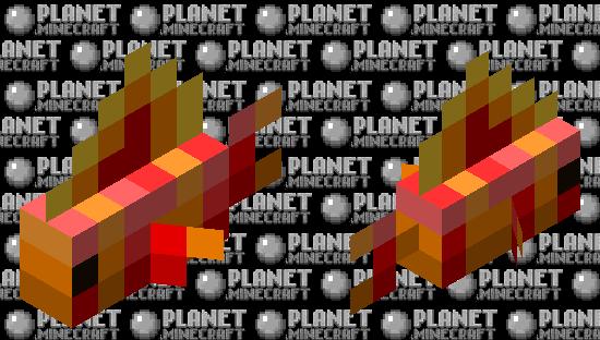 Magmatic Flamefish Minecraft Skin