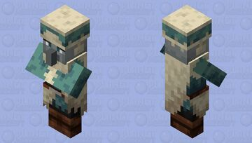 Tundra Vindicator Minecraft Mob Skin