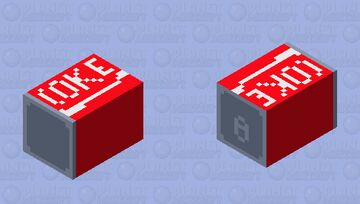 Coca-Cola Bee Minecraft Mob Skin