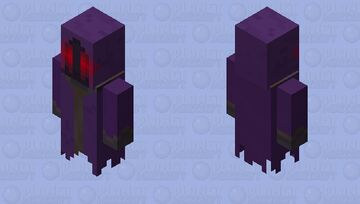 Phantom Wraith. (Dark Minecraft.) Minecraft Mob Skin
