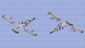 Skeletal Phantom Minecraft Mob Skin