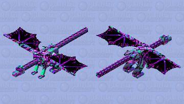 Retro dragon/ siversin64 retro contest Minecraft Mob Skin