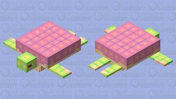 Turtle Cutey Minecraft Mob Skin