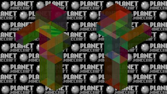 Rainbow Zombie Minecraft Skin