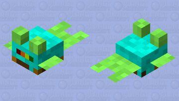 Tiny Plant Pot Minecraft Mob Skin