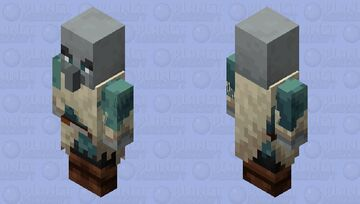 Tundra Vindicator (Vindicator Model) Minecraft Mob Skin