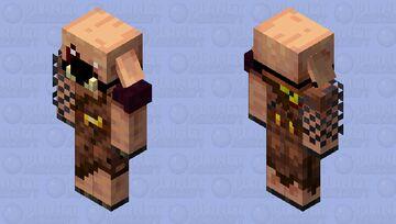 Piglin Mercenary Minecraft Mob Skin