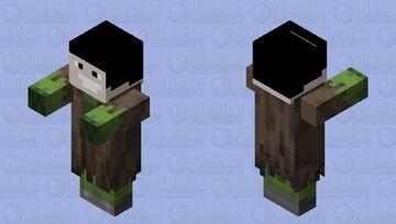 furious zombie Minecraft Mob Skin