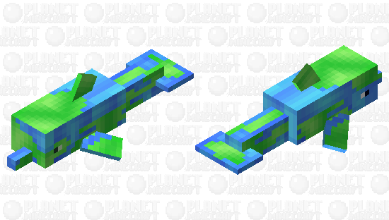 .:PMCRP:. Planet Dolphin Minecraft Skin