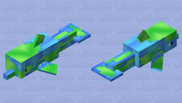 .:PMCRP:. Planet Dolphin Minecraft Mob Skin