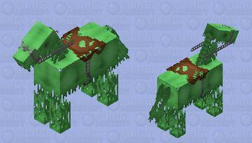 Luminescent Skeletal Apparition Minecraft Mob Skin