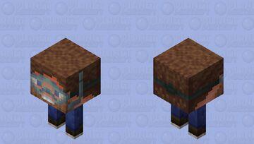 Открываем Незер по новому   Opening Nether in a new way Minecraft Mob Skin