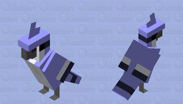 Mordecai (Regular Show) Minecraft Mob Skin