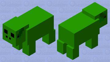 Baby yoga pig Minecraft Mob Skin