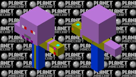 Thanos Minecraft Skin