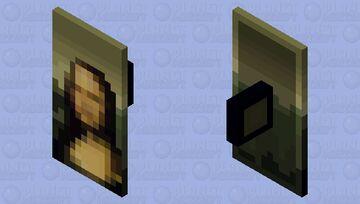 The Historical Shield of Mona Lisa Minecraft Mob Skin