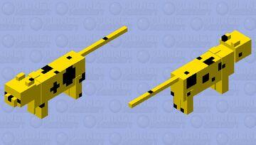Cheese Cat~First Skin On Pop Reel UwU Minecraft Mob Skin